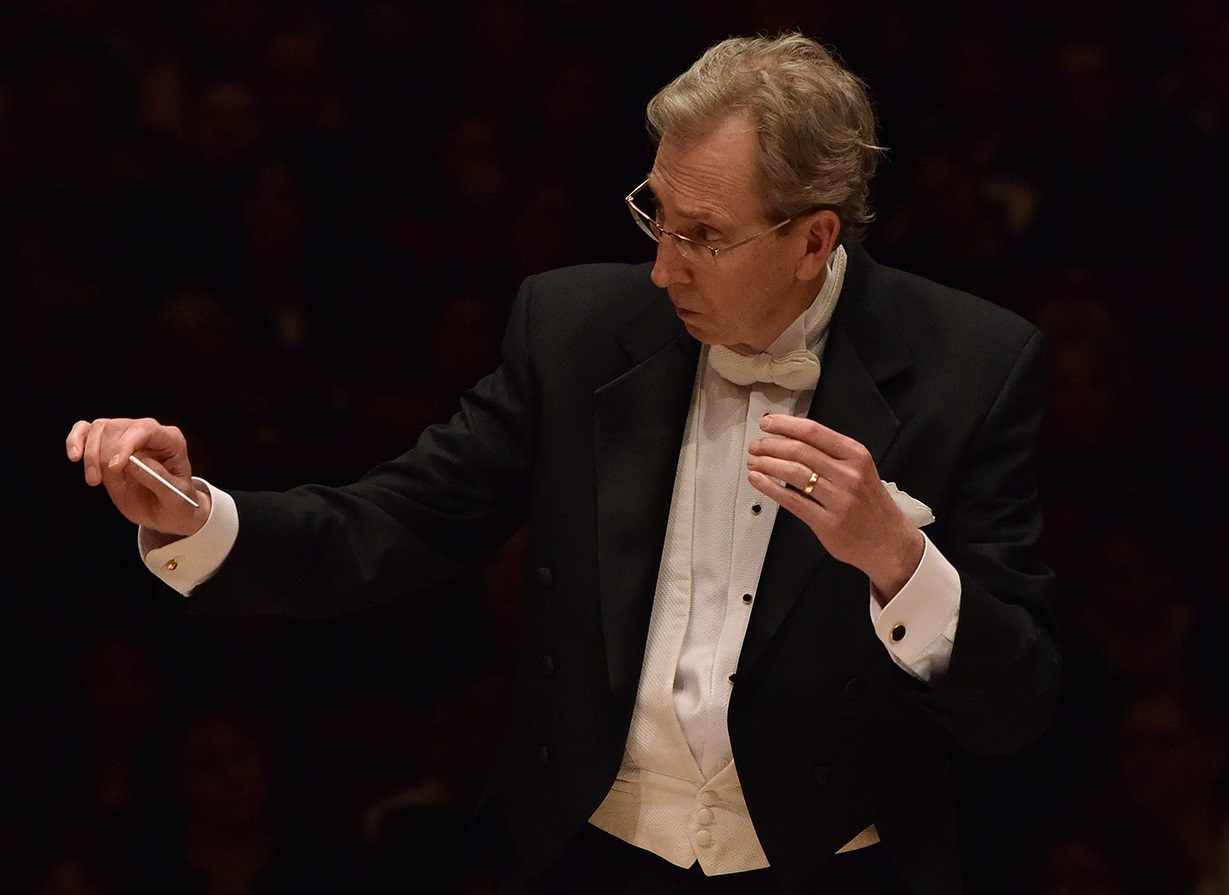 Gregory Gentry conducting at Carnegie
